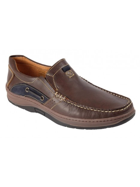 MOCASIN MARRON 1505KS