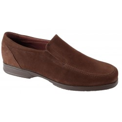 MOCASIN MARRON NOBUCK 6605B
