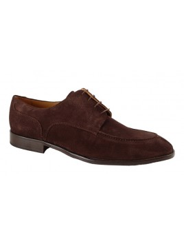 ZAPATO VESTIR MARRON ANTE 6267PC