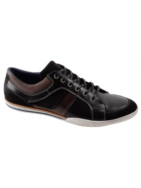 Zapato Negro Piel Tallas Grandes 399W