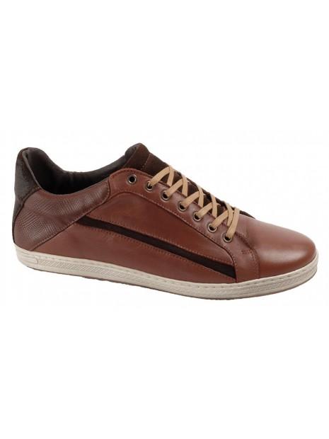 Zapato Ebano Piel Tallas Grandes  641W