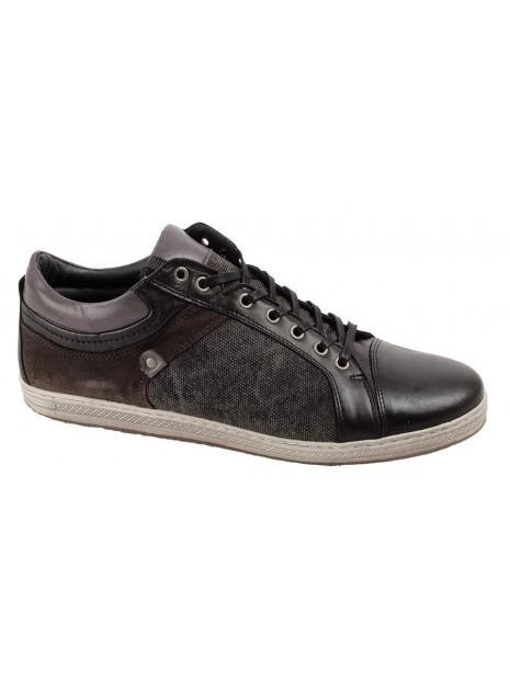 Zapato Negro Tallas Grandes 423W