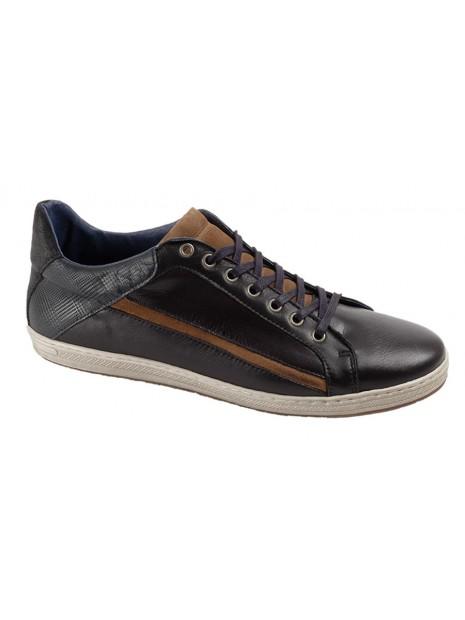 Zapato Negro Piel Tallas Grandes  641W