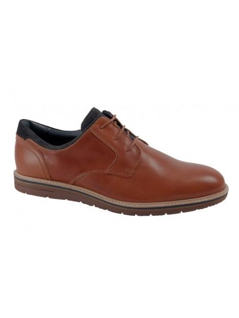 Zapato Coñac Piel Tallas Grandes 786W