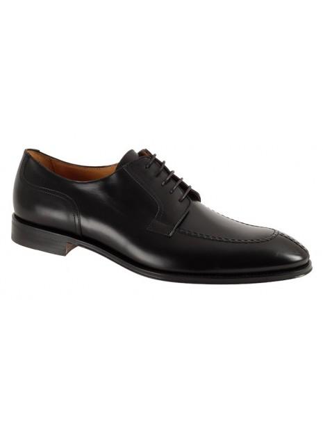 Zapato Vestir Negro Piel Tallas Grandes 5238PZ